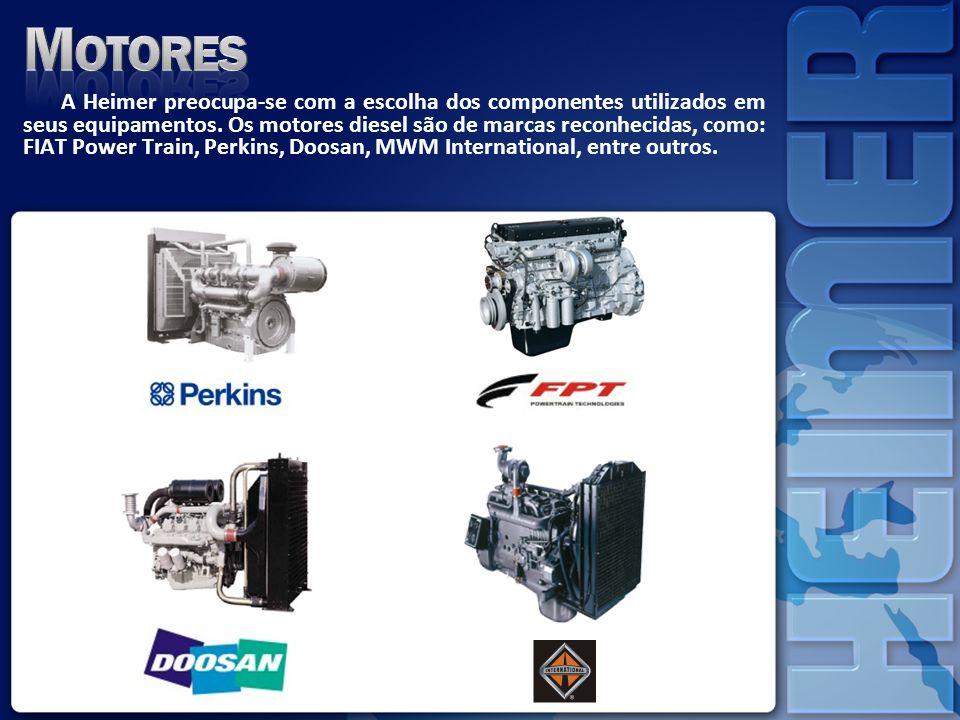 Visando o aumento da demanda interna e exportações, a empresa investiu em tecnologia modernizando a fabricação de sua linha de alternadores e elevando seu padrão de qualidade.