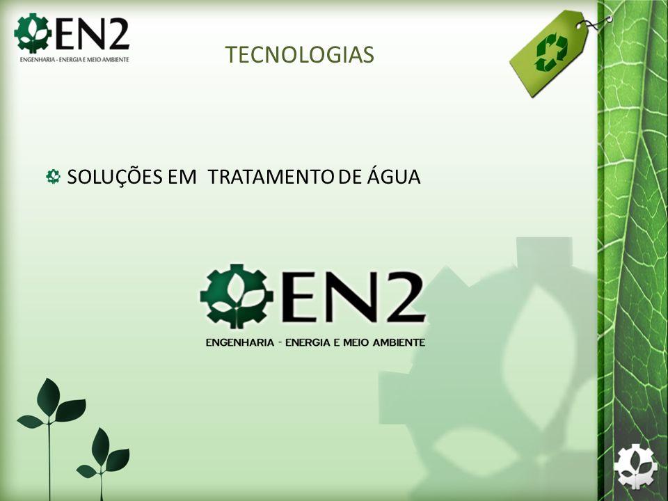 SOLUÇÕES EM TRATAMENTO DE ÁGUA TECNOLOGIAS