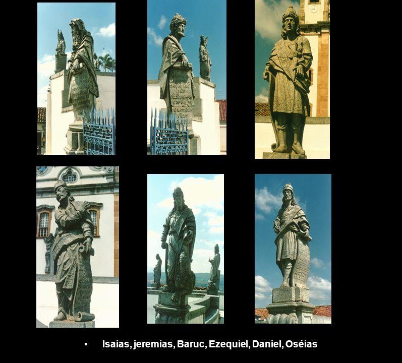 Isaias, jeremias, Baruc, Ezequiel, Daniel, Oséias