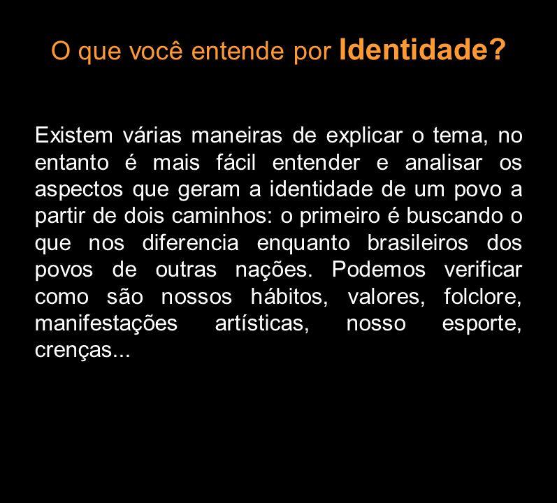 O que você entende por Identidade? Existem várias maneiras de explicar o tema, no entanto é mais fácil entender e analisar os aspectos que geram a ide