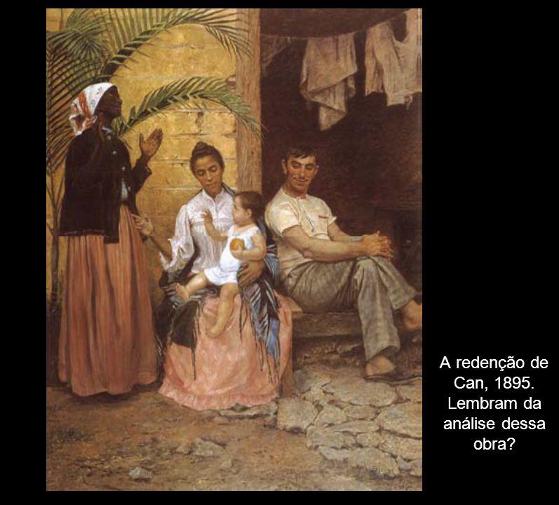 A redenção de Can, 1895. Lembram da análise dessa obra?