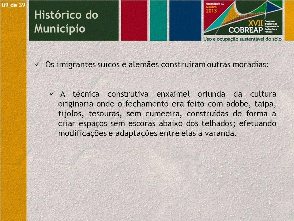 10 de 39 Histórico do Município