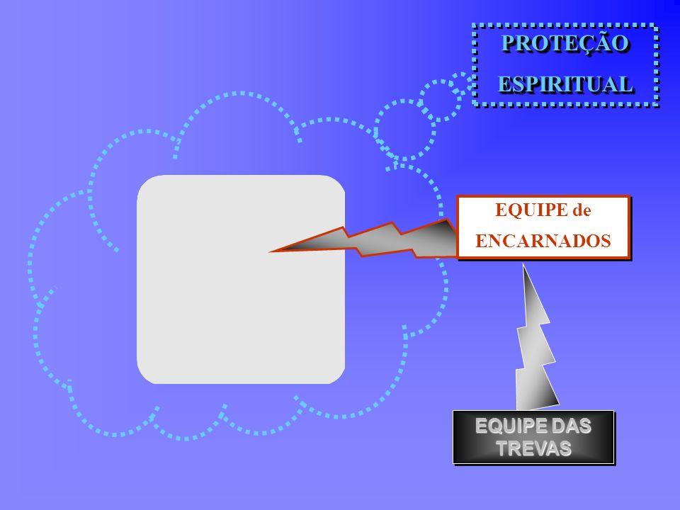 PROTEÇÃOESPIRITUALPROTEÇÃOESPIRITUAL EQUIPE de ENCARNADOS EQUIPE de ENCARNADOS EQUIPE DAS TREVAS