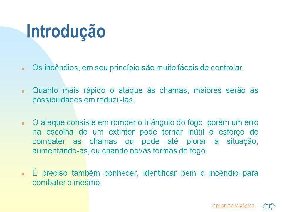 Ir p/ primeira página COMBATE A INCÊNDIOS S