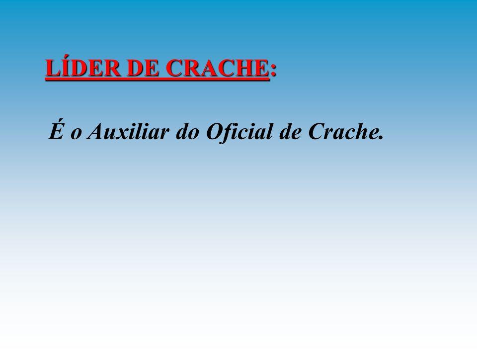 OFICIAL DE CRACHE: É a função acumulada pelo OLP, caso ocorra um crache de aeronave a bordo.