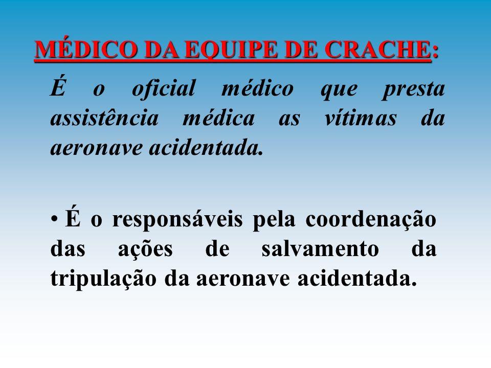 HOMENS DE SALVAMENTO: São responsáveis pelo cumprimento dos procedimentos de cabine; e Pelo auxilio ao enfermeiro nos primeiros socorros, imobilização e transporte de vítimas, se necessário.