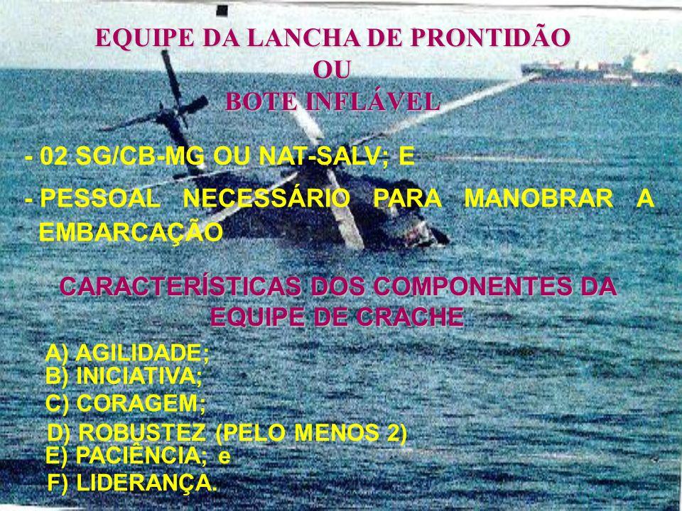 A T r. PICK-UP VERTREP HIFR - UM OFICIAL - UM SG - LÍDER GRUPO DE CAV DE BORDO