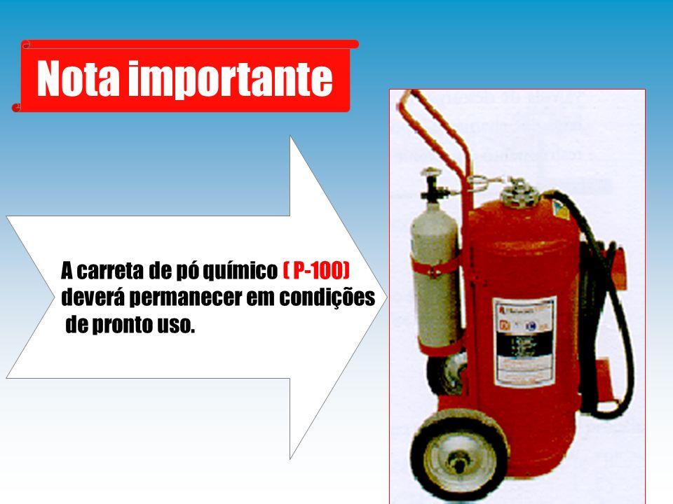b) Incêndio após o crache Além da linha de proteção, um aplicador poderá ser utilizado das seguintes maneiras: Procedimentos para o combate ao incêndio Resfriar os tanques de combustíveis; Resfriar o interior da cabine dos pilotos; e Resfriar o armamento.