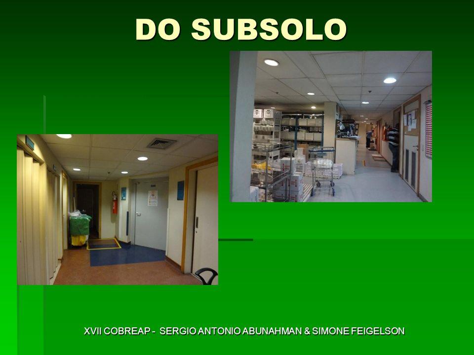 DO SUBSOLO XVII COBREAP - SERGIO ANTONIO ABUNAHMAN & SIMONE FEIGELSON