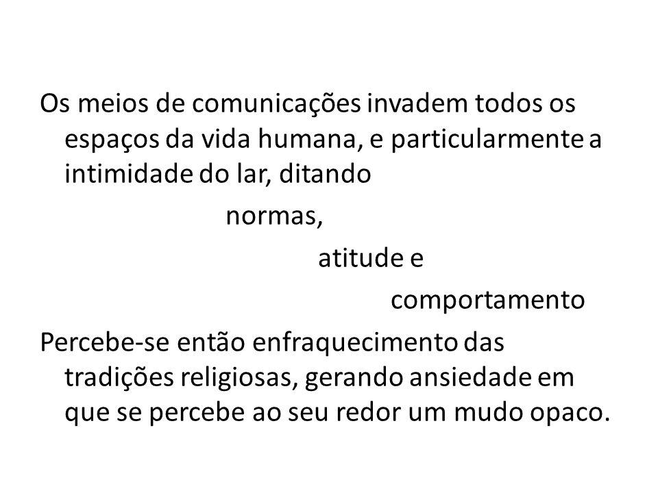 Finalidade da Nova Evangelização (cf.