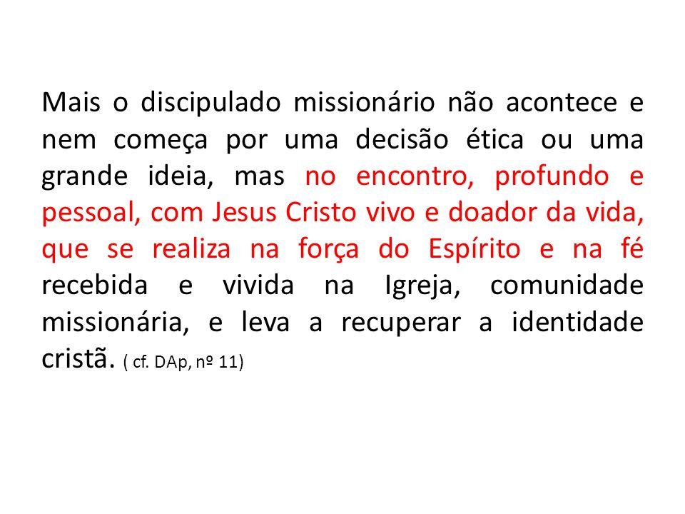 4° – ADESÃO VITAL NUMA COMUNIDADE ECLESIAL.