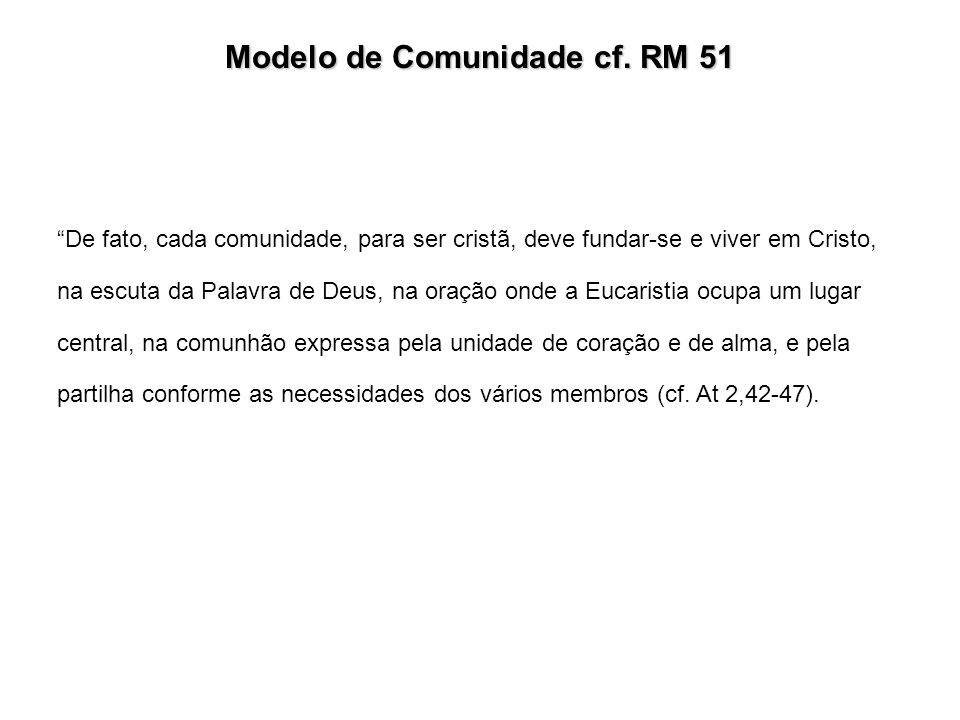 Modelo de Comunidade cf.