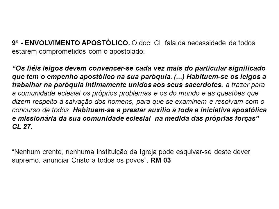 9° - ENVOLVIMENTO APOSTÓLICO.O doc.
