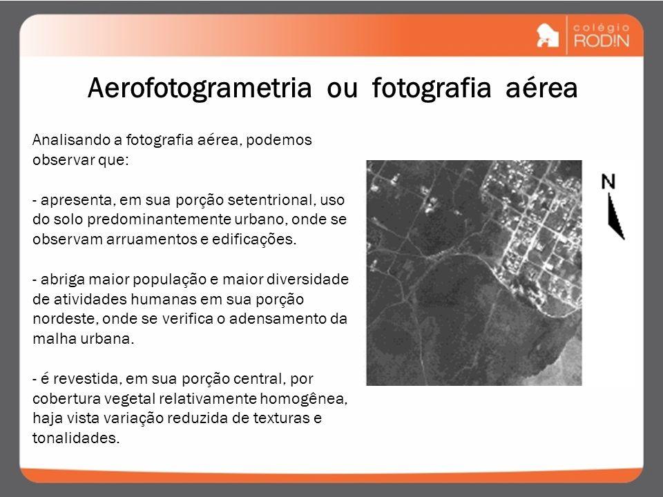 É a representação do terreno através de fotografias aéreas, as quais são expostas sucessivamente, ao longo de uma direção de vôo. Essa sucessão é feit