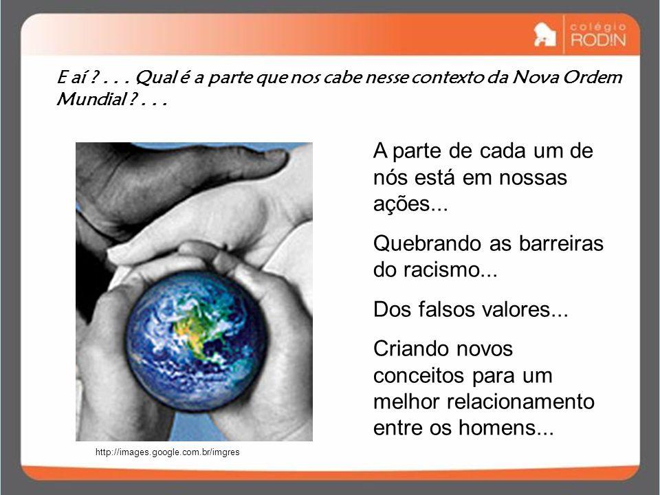 E aí ?... Qual é a parte que nos cabe nesse contexto da Nova Ordem Mundial ?... http://images.google.com.br/imgres A parte de cada um de nós está em n