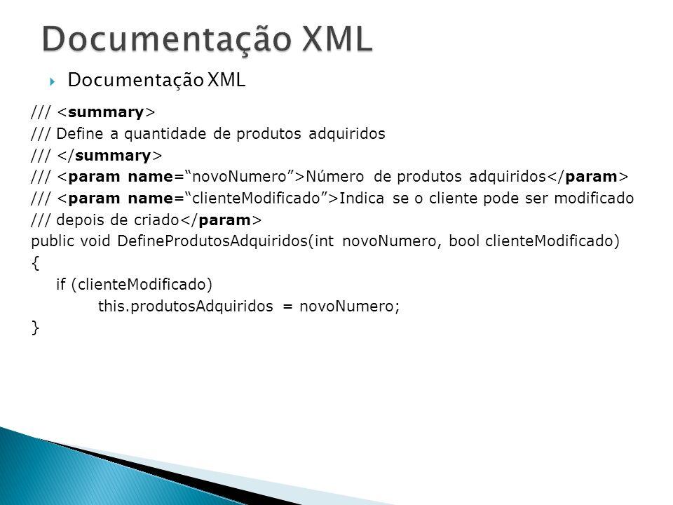 Documentação XML /// /// Define a quantidade de produtos adquiridos /// /// Número de produtos adquiridos /// Indica se o cliente pode ser modificado