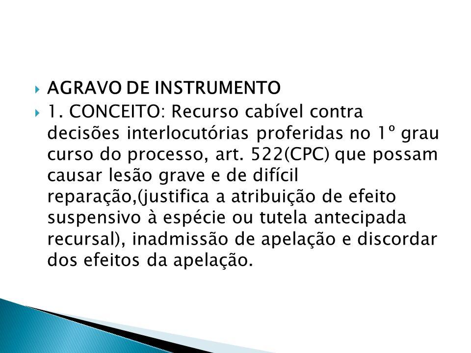 AGRAVO REGIMENTAL(previsto nos regimentos dos Tribunais)REGIMENTO INTERNO DO TRIBUNAL DE JUSTIÇA DO ESTADO DO PIAUÍ Art.