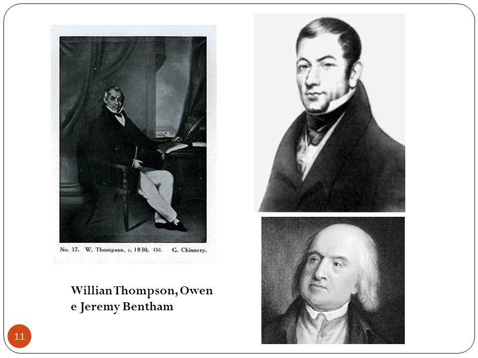 11 Willian Thompson, Owen e Jeremy Bentham
