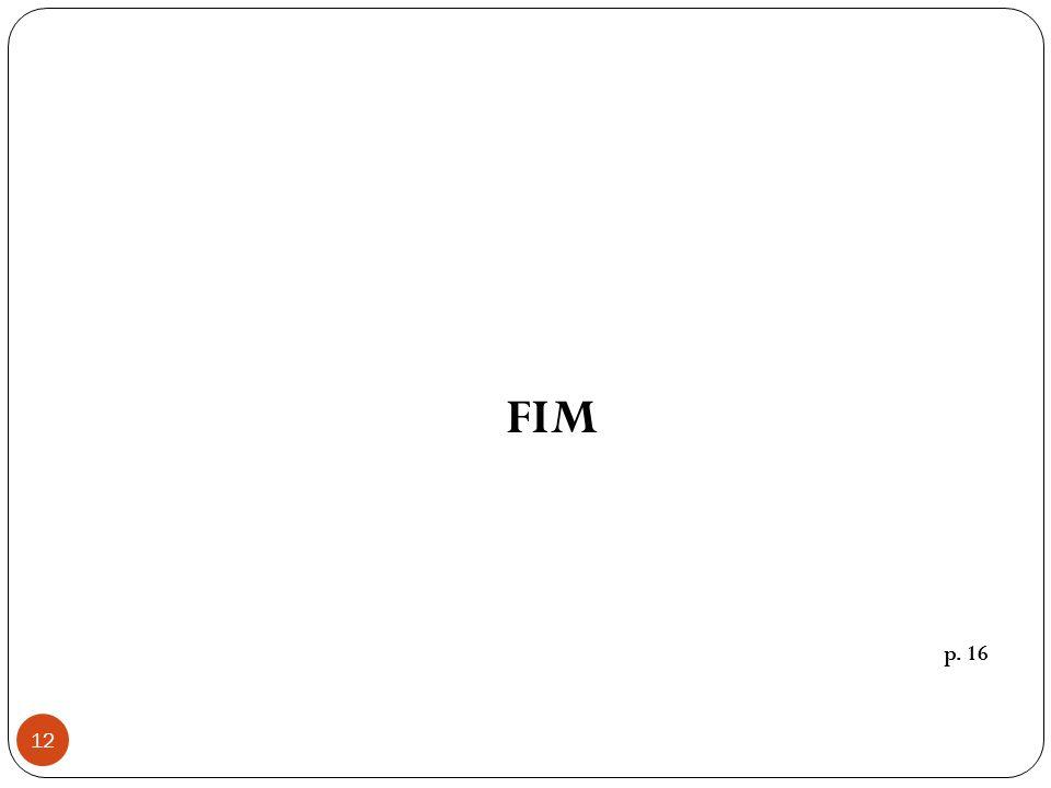 12 FIM p. 16
