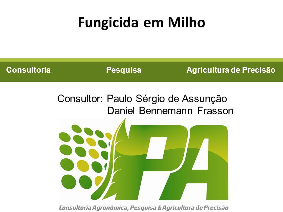 Consultoria Pesquisa Agricultura de Precisão Consultor: Paulo Sérgio de Assunção Daniel Bennemann Frasson Fungicida em Milho