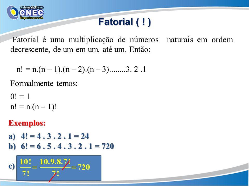 Fatorial ( .