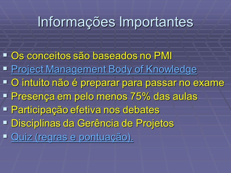 1.Termo de abertura do projeto (Project Charter).