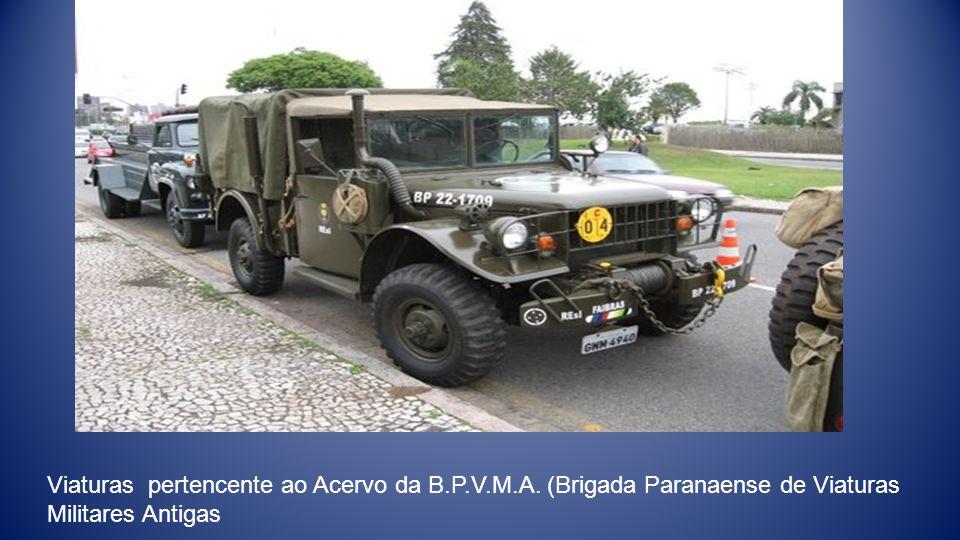 Viaturas pertencente ao Acervo da B.P.V.M.A. (Brigada Paranaense de Viaturas Militares Antigas