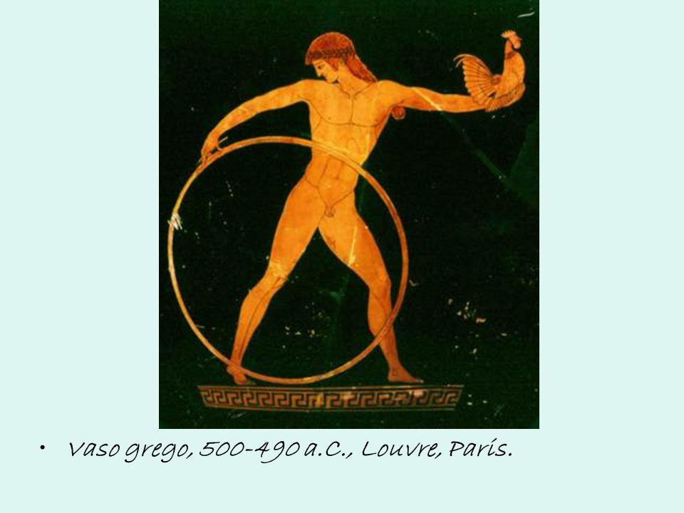 Vaso grego, 500-490 a.C., Louvre, Paris.