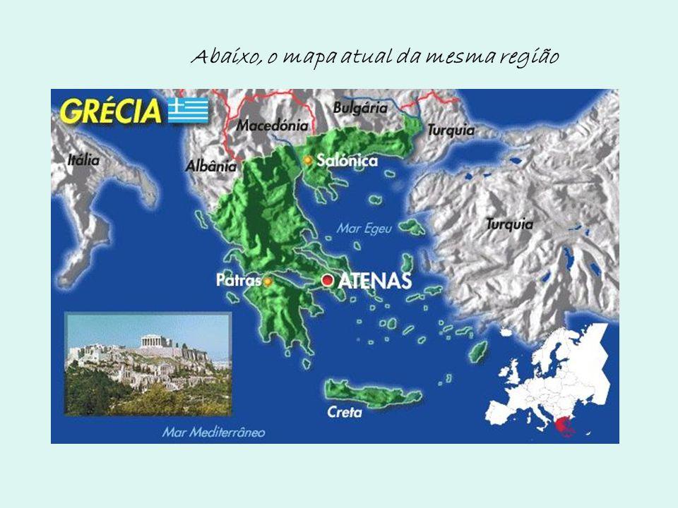 Abaixo, o mapa atual da mesma região