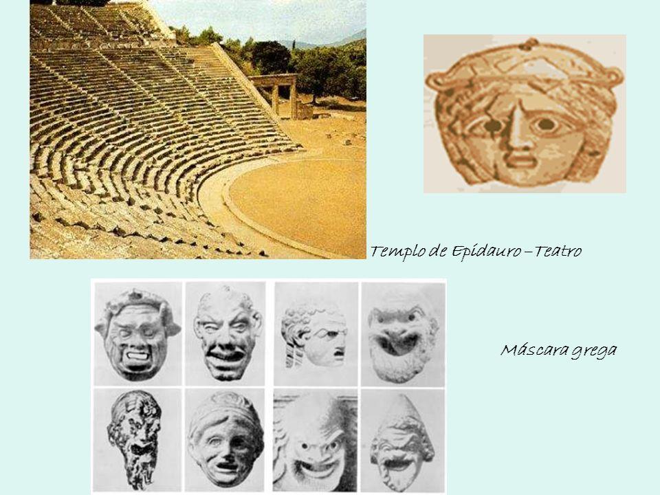 Templo de Epidauro –Teatro Máscara grega