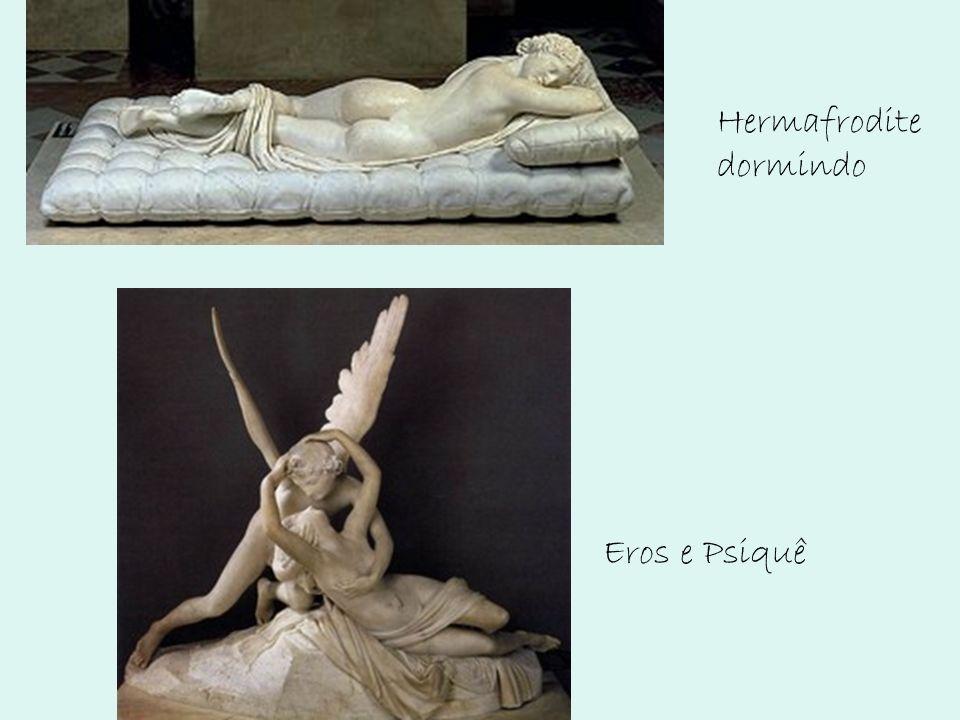 Eros e Psiquê Hermafrodite dormindo