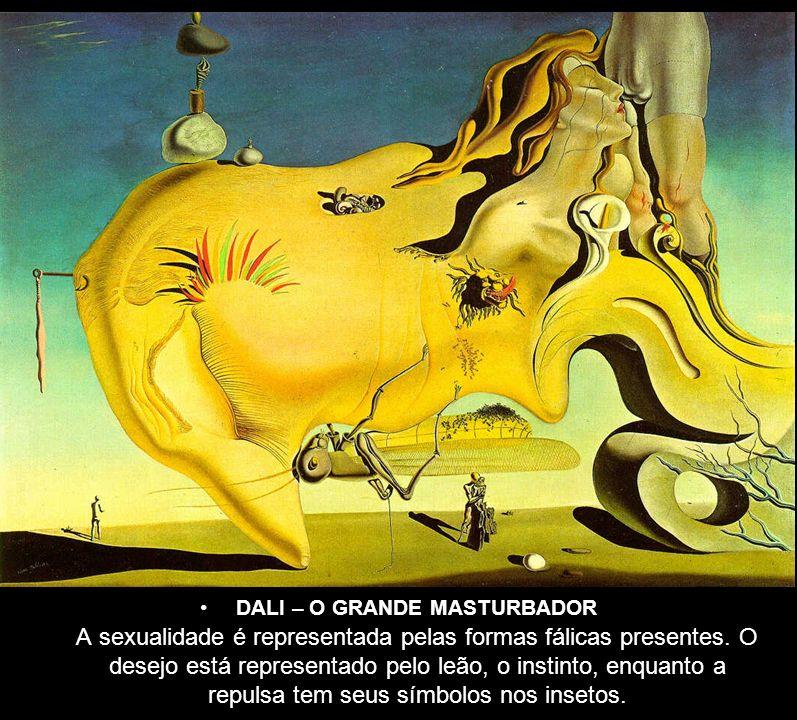 A sexualidade é representada pelas formas fálicas presentes. O desejo está representado pelo leão, o instinto, enquanto a repulsa tem seus símbolos no