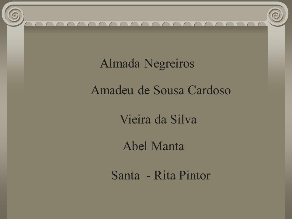 Almada Negreiros Amadeu de Sousa Cardoso Abel Manta Santa - Rita Pintor Vieira da Silva