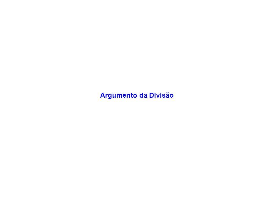 Argumento da Divisão
