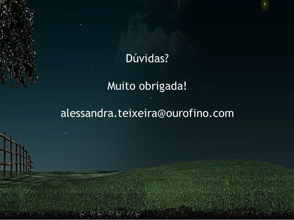 www.ourofino.com 59 Dúvidas? Muito obrigada! alessandra.teixeira@ourofino.com