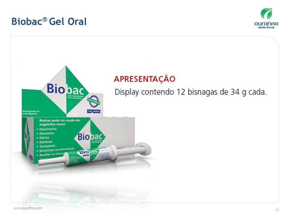 www.ourofino.com 11 Biobac ® Gel Oral