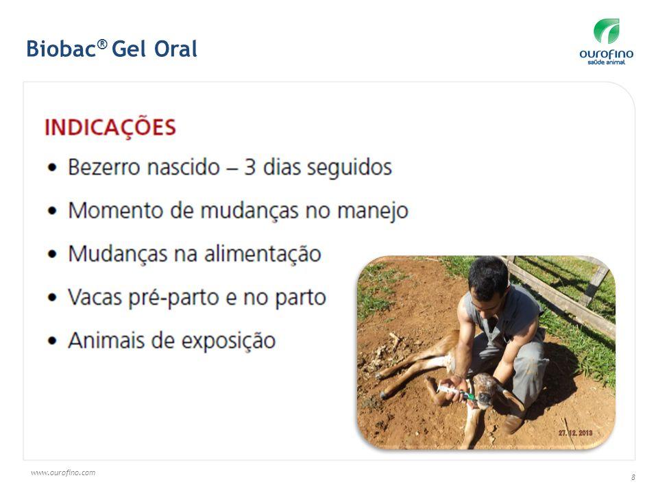 www.ourofino.com 9 Biobac ® Gel Oral