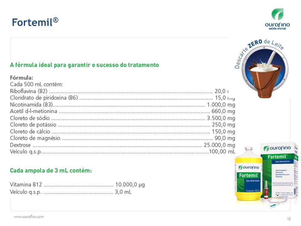 www.ourofino.com 10 Fortemil ®