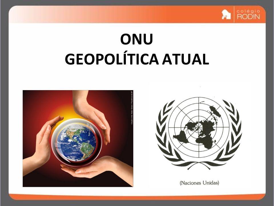 IDADE CONTEMPORÂNEA GUERRA FRIA (1945 – 1989) ONU GEOPOLÍTICA ATUAL