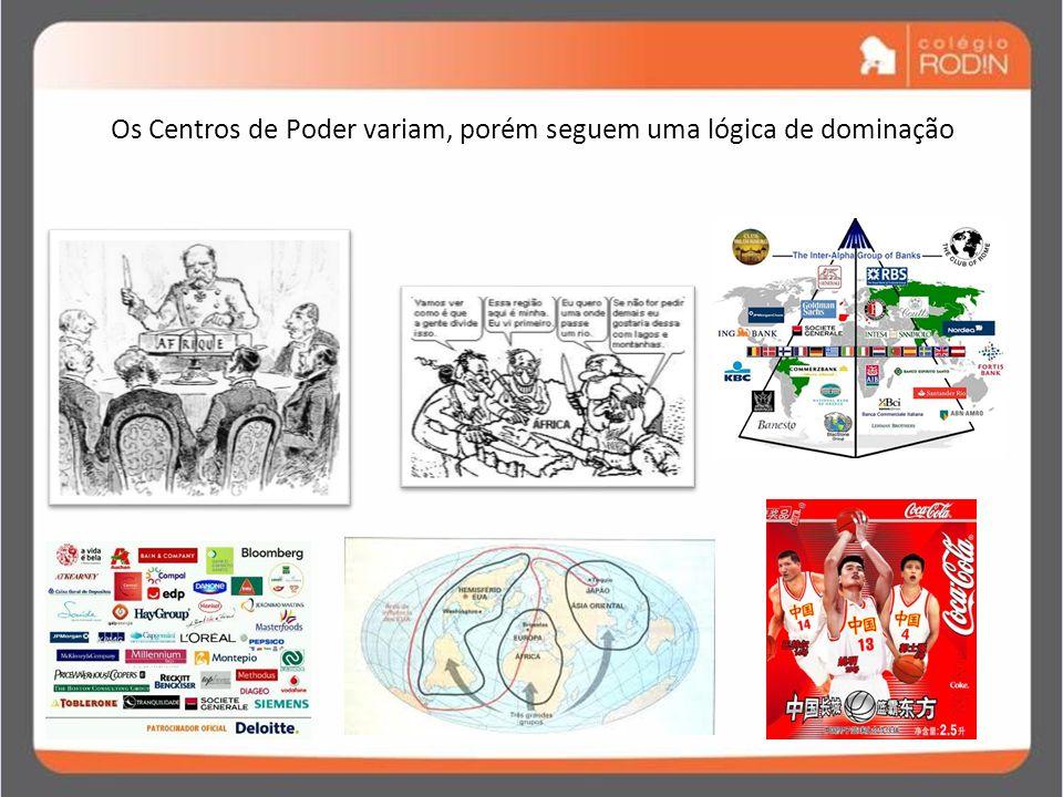 IDADE CONTEMPORÂNEA GUERRA FRIA (1945 – 1989) Os Centros de Poder variam, porém seguem uma lógica de dominação