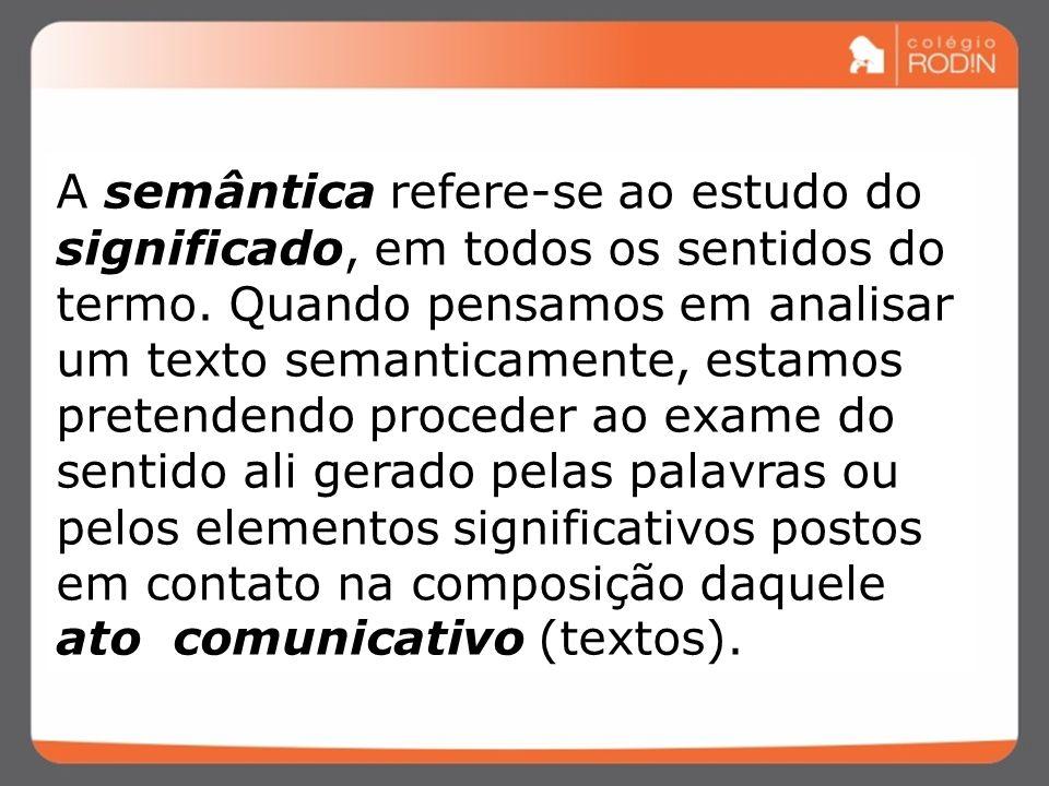 CONTEXTO / SITUAÇÃO