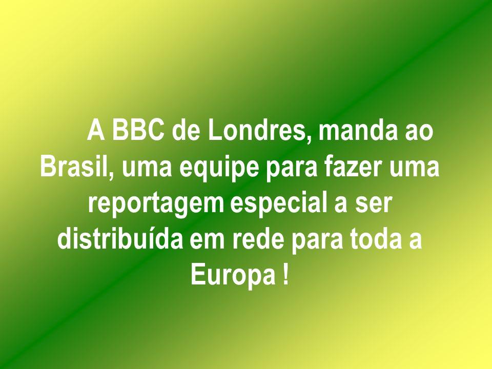 O povo brasileiro fica perplexo e chocado com o contraste !