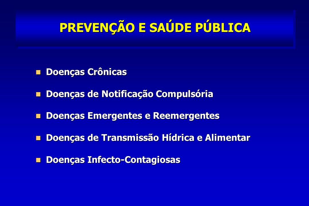 PREVENÇÃO E SAÚDE PÚBLICA Doenças Raras como as Metabólicas e Hereditárias Doenças Raras como as Metabólicas e Hereditárias Obesidade – 15%; Sobrepeso – 25% Obesidade – 15%; Sobrepeso – 25% Acidentes de Trabalho – São Paulo ½ Brasil Acidentes de Trabalho – São Paulo ½ Brasil Diabetes, Fumantes, Deficientes Físicos e Mentais, Adolescentes Grávidas Diabetes, Fumantes, Deficientes Físicos e Mentais, Adolescentes Grávidas
