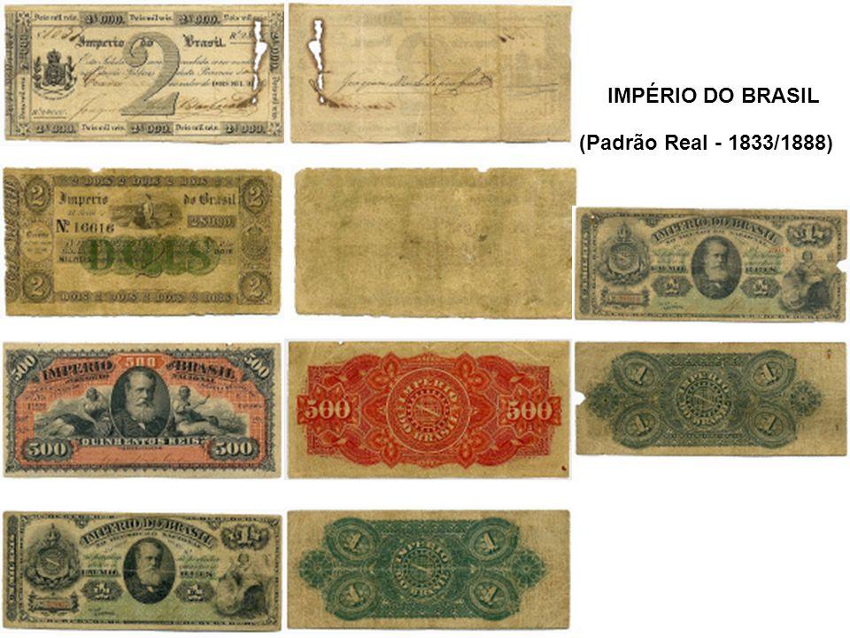 (Padrão Real - 1833/1888) IMPÉRIO DO BRASIL