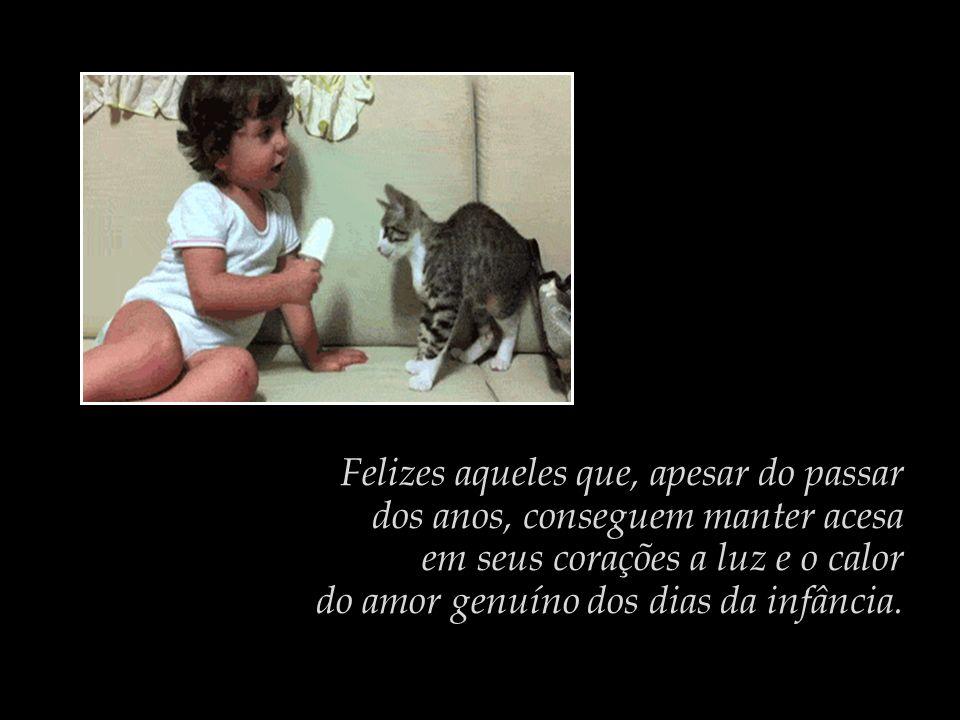 Toda criança bem pequena manifesta naturalmente o amor, a generosidade, a bondade, o cuidado.