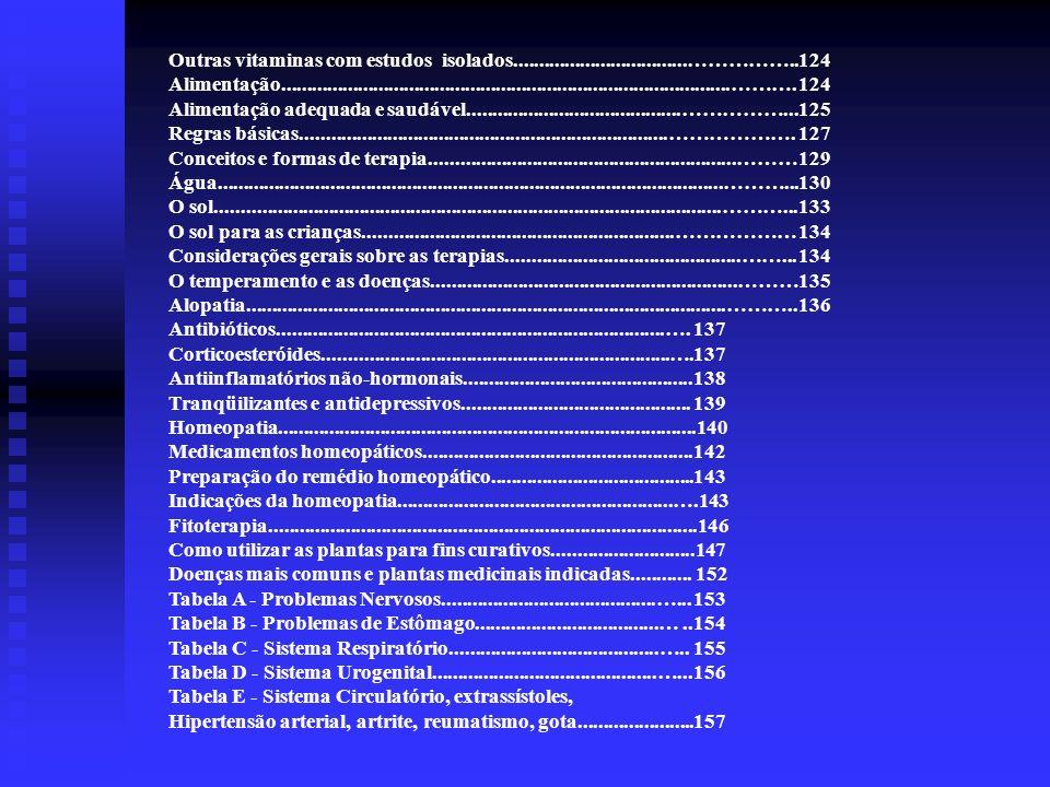 Aditivos Químicos O livro Viva mais e melhor apresenta uma Tabela de aditivos Químicos nos alimentos e seus efeitos no organismo.