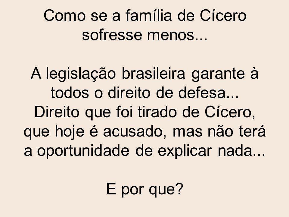 Depois ainda foi encontrada a sétima vítima: Cícero Augustinho da Silva, continuo, 60 anos. O qual portava 13 papelotes de cocaína (conforme informaçõ