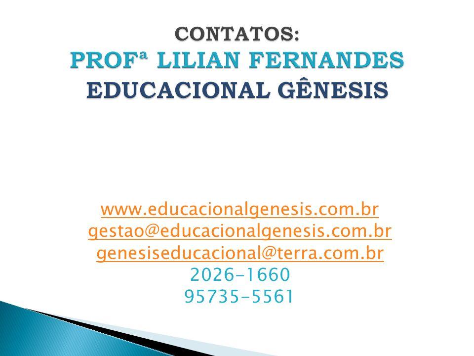 www.educacionalgenesis.com.br gestao@educacionalgenesis.com.br genesiseducacional@terra.com.br 2026-1660 95735-5561