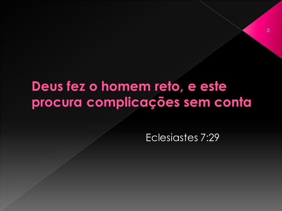 Eclesiastes 7:29 2