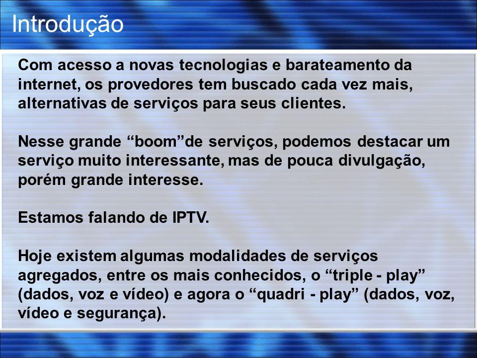 Serviços Multimídias VOD IPTV & RADIOS VoIP DADOS SEGURANÇA